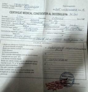 certificat medical-deces