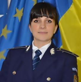 Teodora Dragole, purtător de cuvânt al IPJ Teleorman.