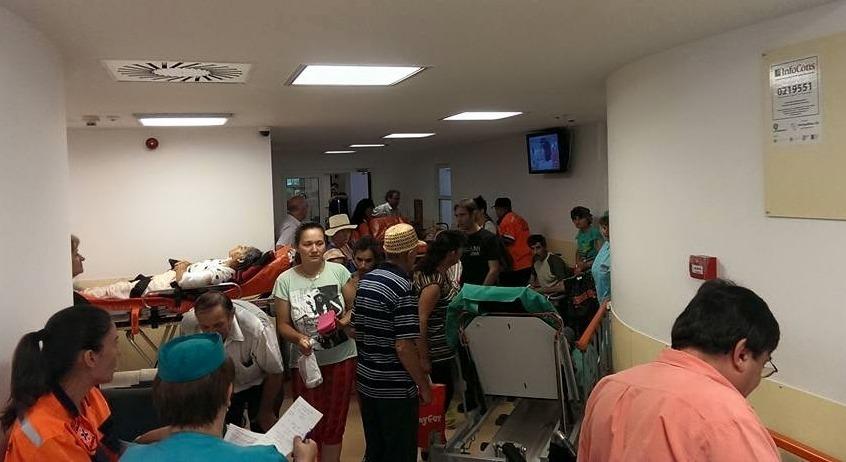 O zi in infernul UPU de la Spitalul Judetean Alexandria