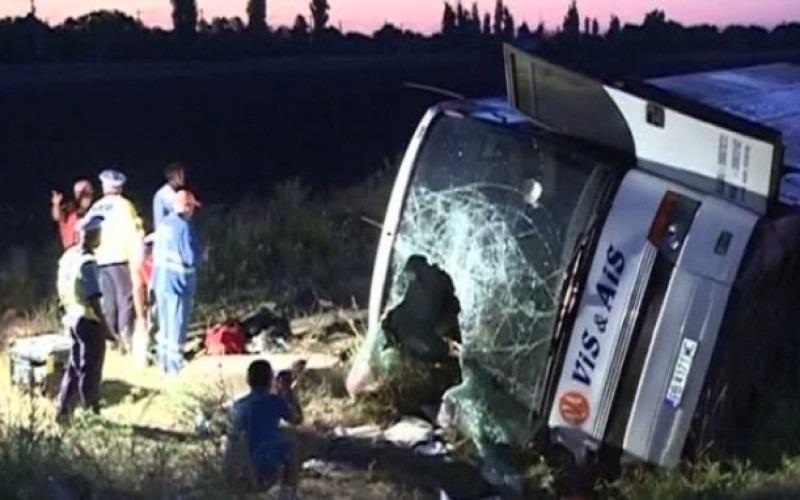 ACCIDENT GRAV pe Autostrada Soarelui. Două persoane au murit şi mai multe sunt rănite