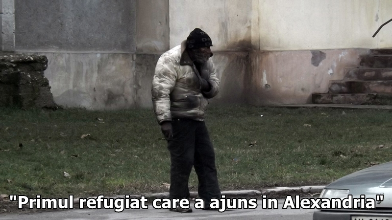 Primul refugiat care a ajuns in Alexandria