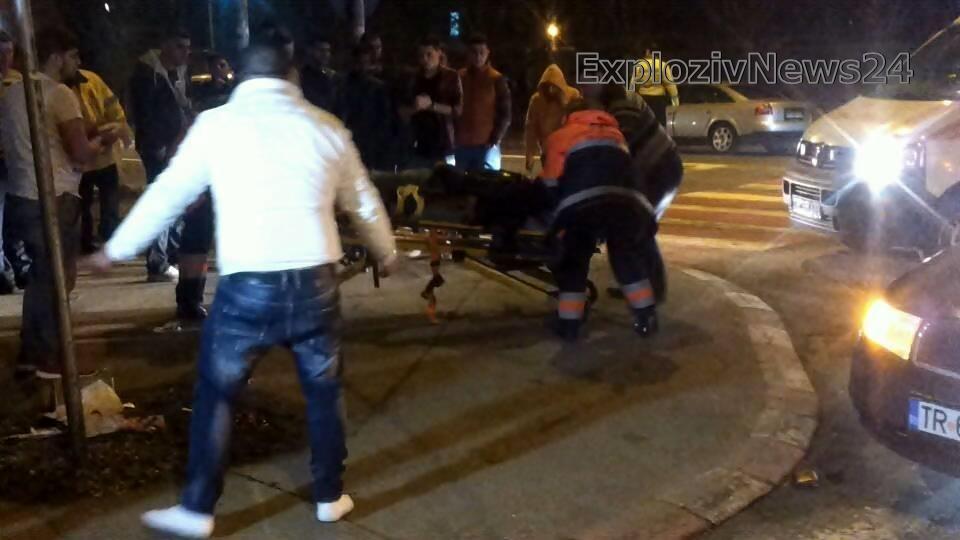 Accident grav în Alexandria. Victima se zbate între viață și moarte