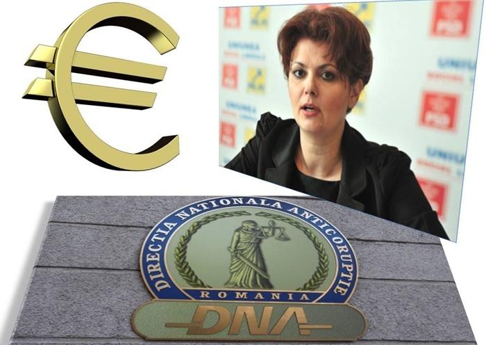 Lia Olguța Vasilescu a fost reținută de procurorii DNA