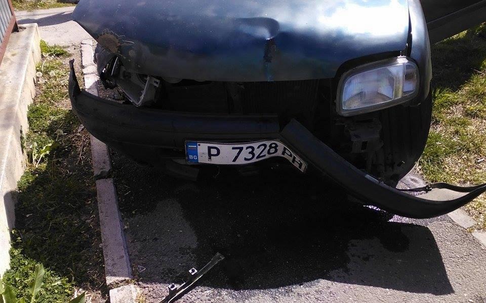 Accident la intersecția străzilor Av. Colfescu și Cuza Vodă, din Alexandria