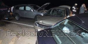 Accident grav pe DN6. Trei persoane, printre care si o minoră au ajuns la spital