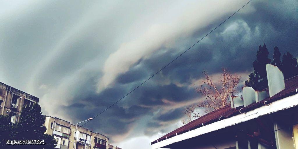 Cod galben de furtuni în Teleorman 1
