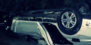 Accident rutier pe E70, la iesire din localitatea Plosca. Două persoane au ajuns la spital